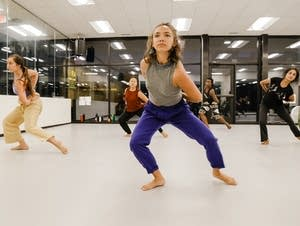 Ananya Dance Theatre rehearses at its studio in St. Paul.