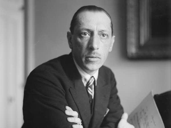 Composer Igor Stravinsky