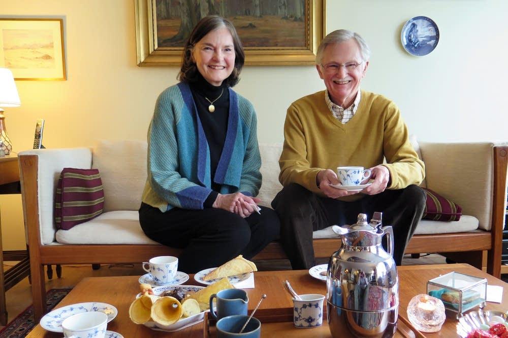 Birgitte and John Christianson