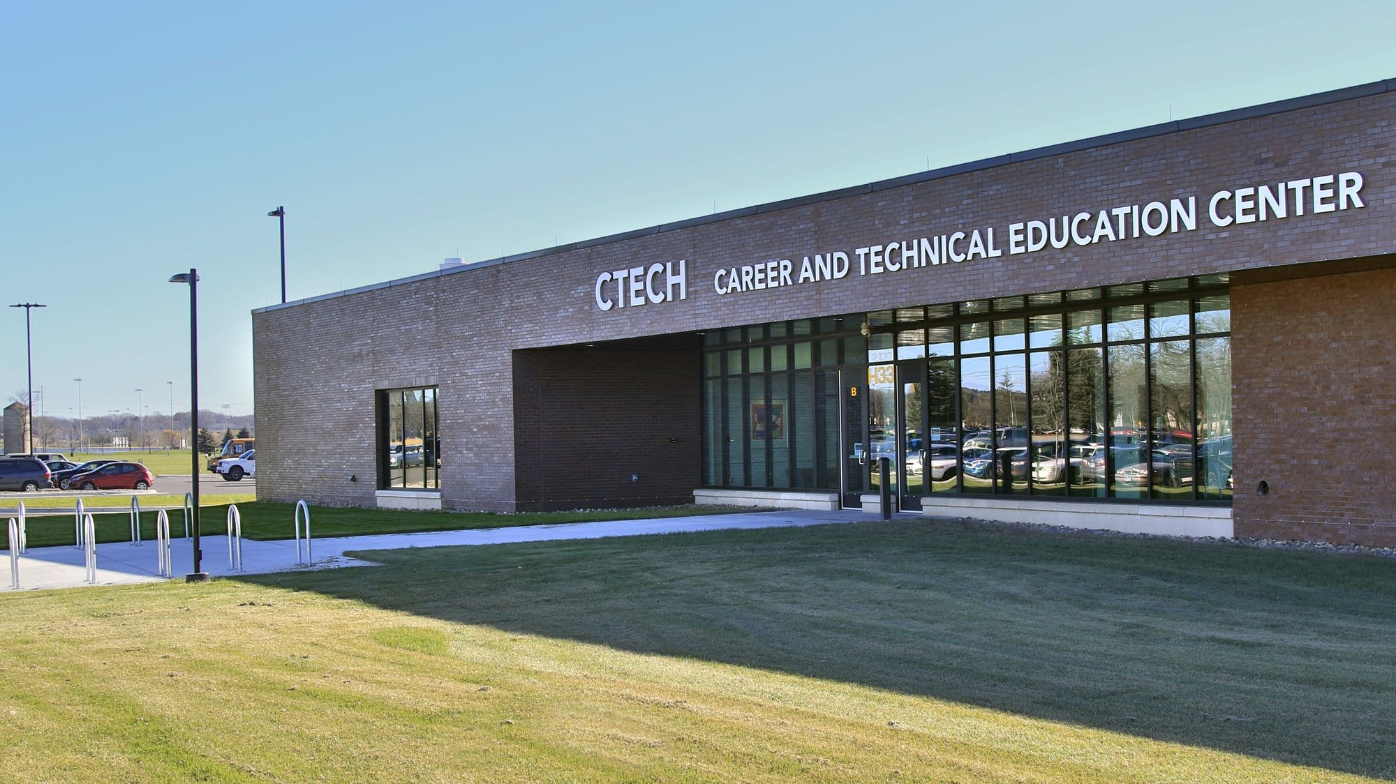 The newly constructed CTECH building