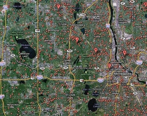 Mapping foreclosures | MPR News