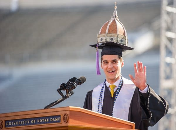 Notre Dame Graduate School >> Saplings And Gowns Quirky Graduation Traditions Mpr News