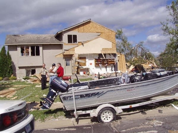 Rogers tornado damage
