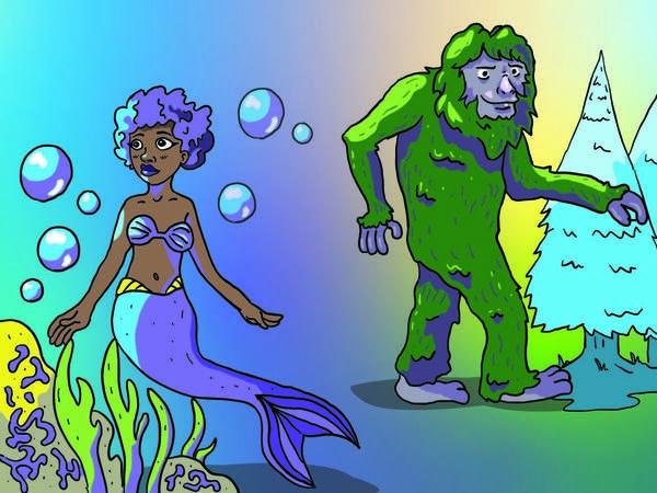 Mermaids vs. Bigfoot