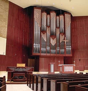 2001 Lively-Fulcher organ at Saint Olaf RCC, Minneapolis