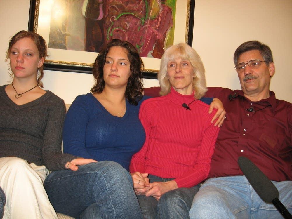 Dan Olsen's family