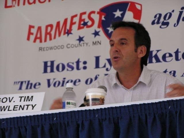 Republican gubernatorial candidate Tim Pawlenty