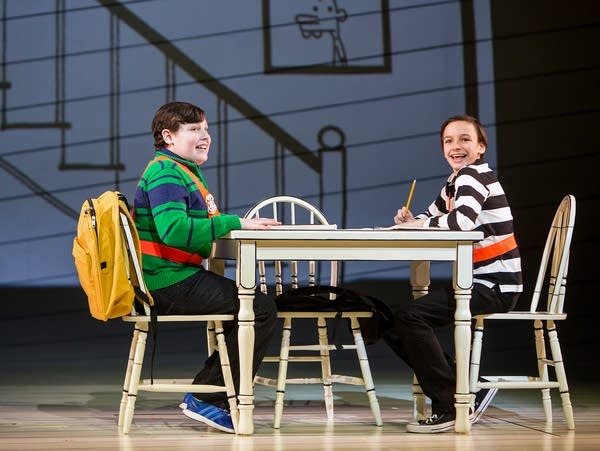 David Rosenthal as Rowley and Ricky Falbo as Greg