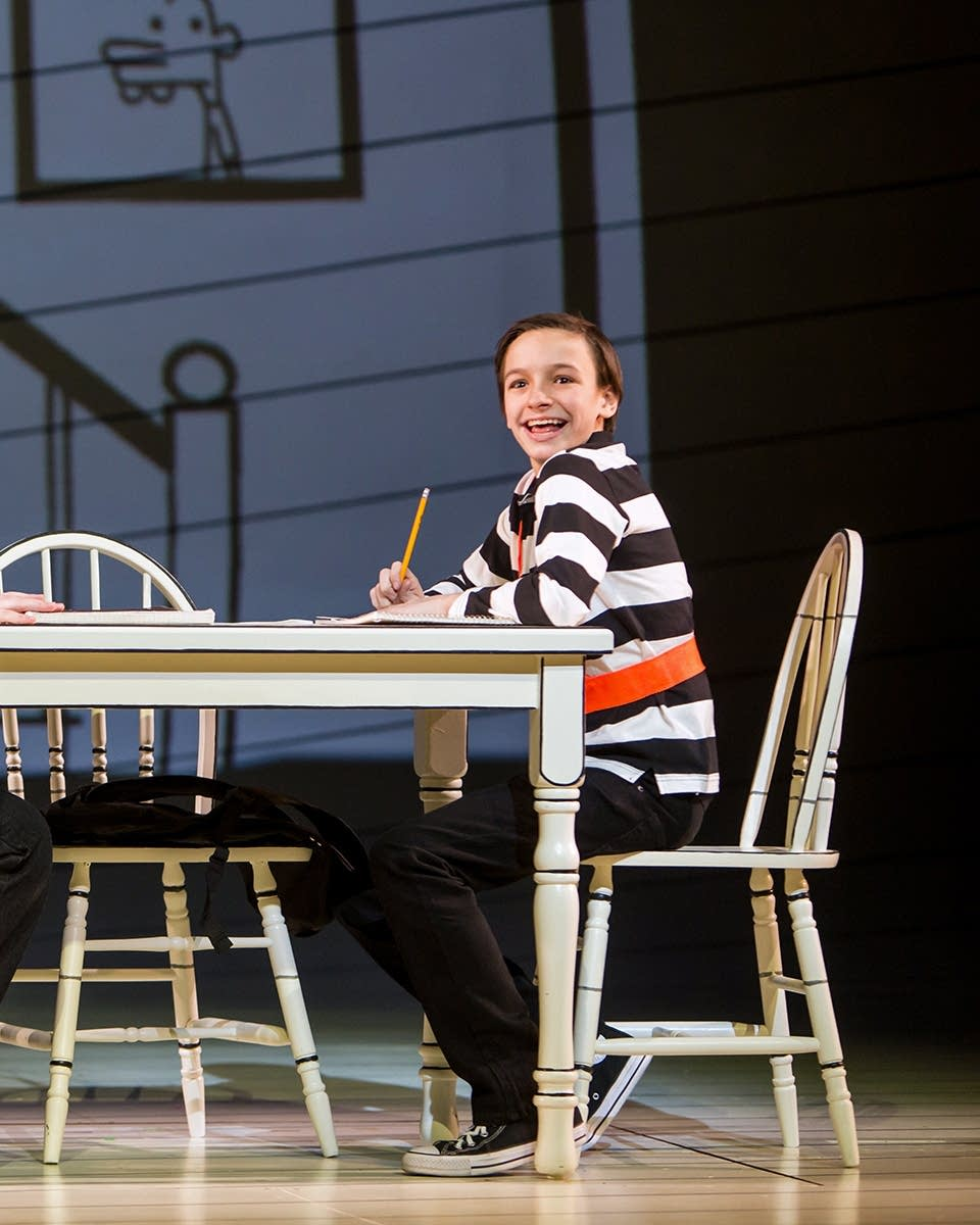 Ctc S Wimpy Kid Brings Musical Approach To Middle School Angst Mpr News