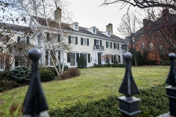 Garrison Keillor's Summit Ave. home sits empty.