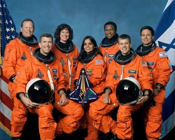 Crew of STS-107 Space Shuttle Columbia