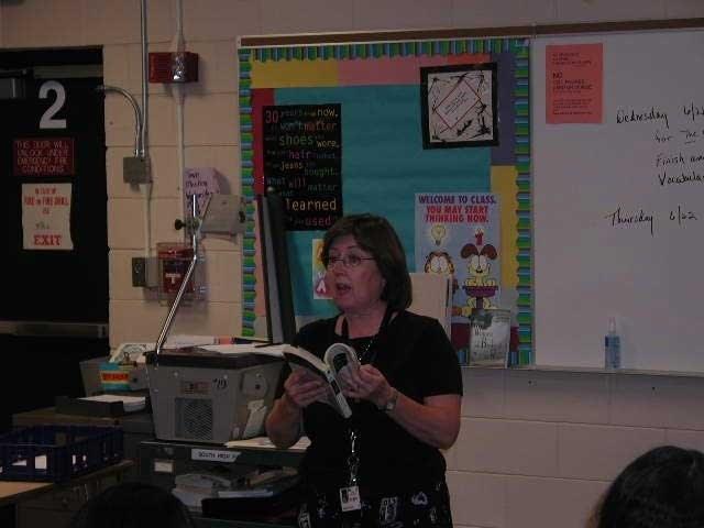 Teacher Marcia Sutherland