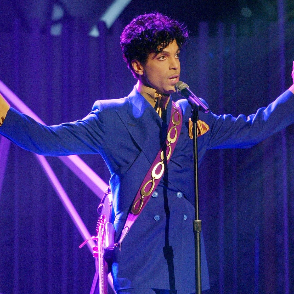 Prince onstage
