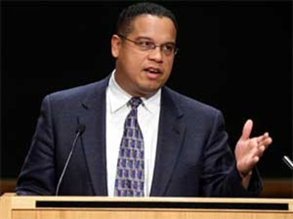 Ellison speaks at U of M
