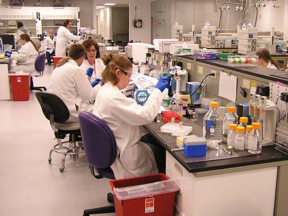Drug testing lab