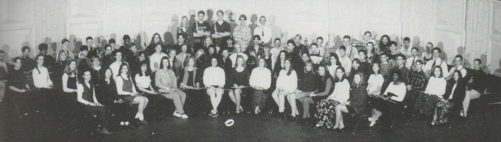 Youa Vang in her school band