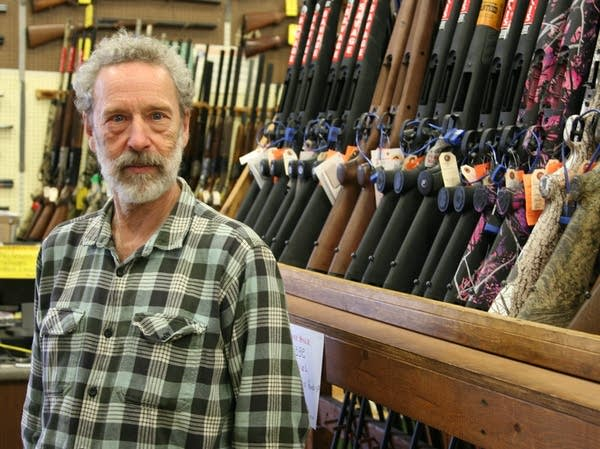 Mitch Mode, the owner of Mel's Trading Post.