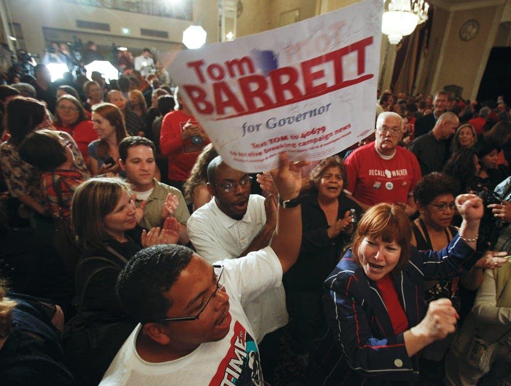 Supporters for Tom Barrett