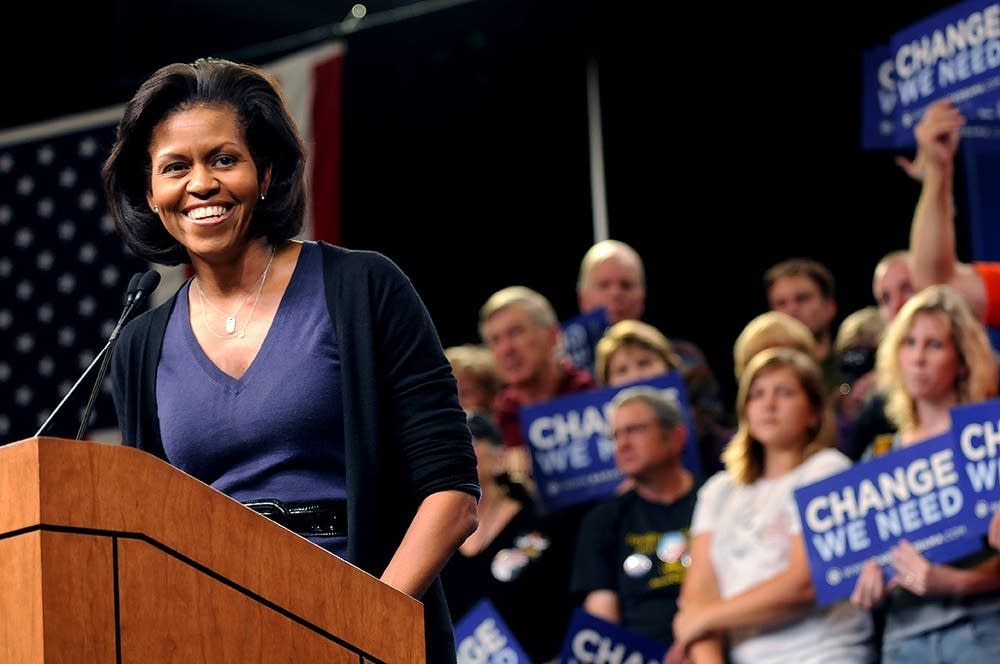 Michelle Obama in St. Paul