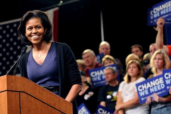 Michelle Obama in St. Paul