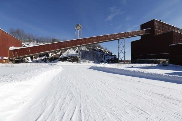 Closed LTV Steel taconite plant