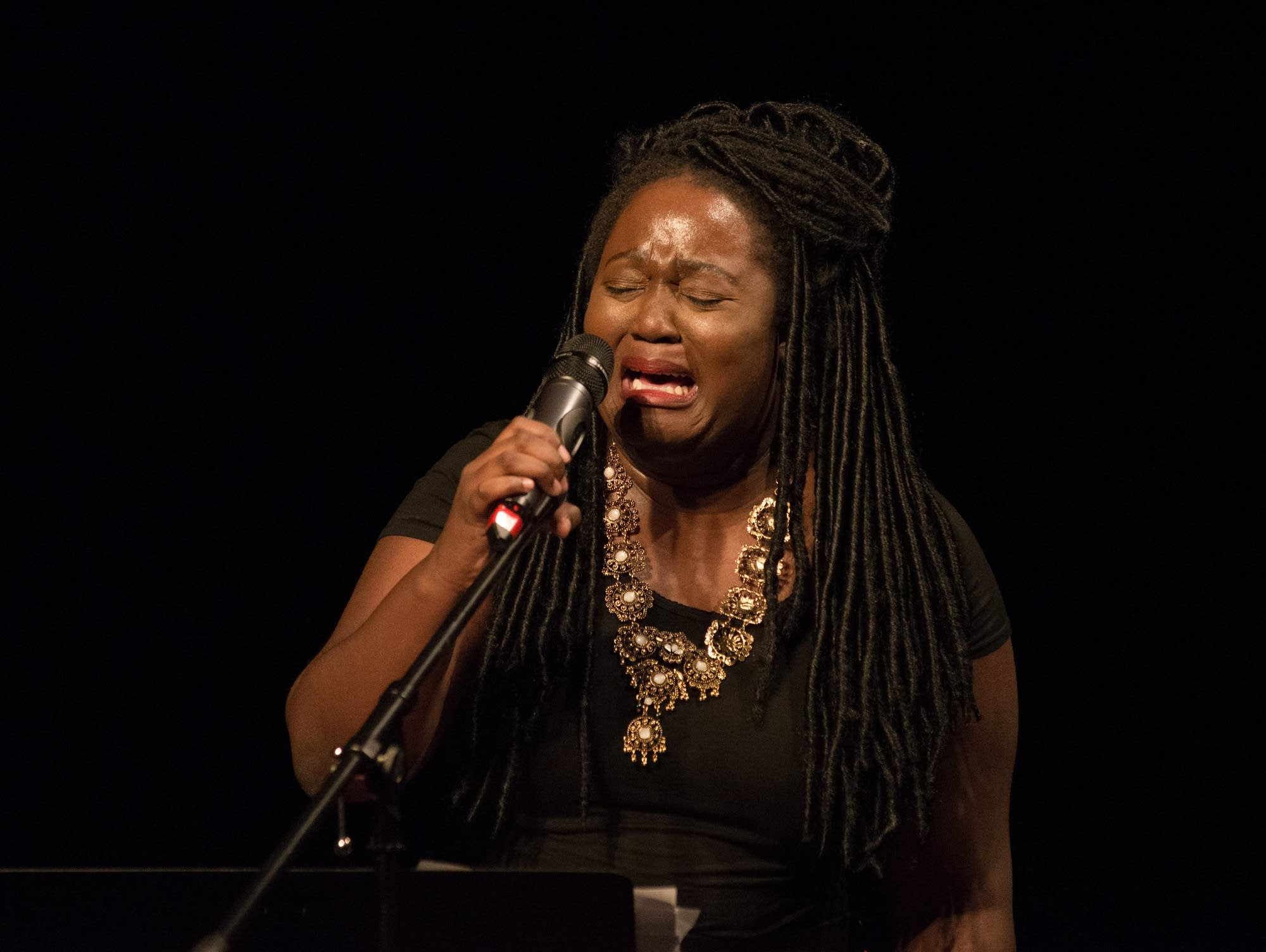 Black Poets Speak Out reading at the Penumbra