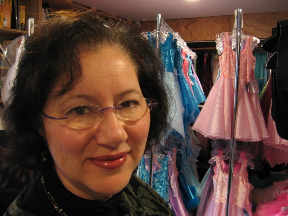 Fairy Finery owner, Susan Berns.