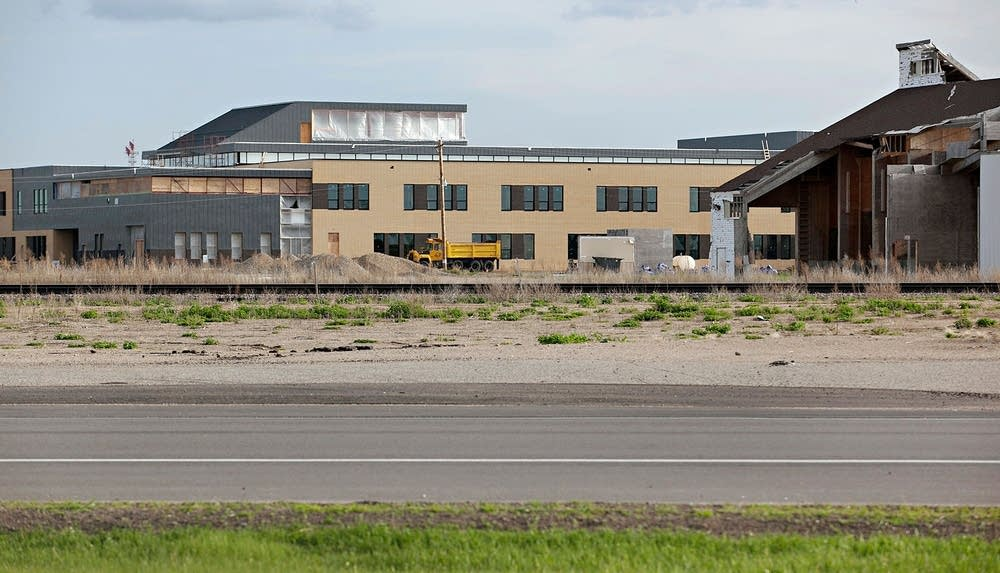 New school in Wadena