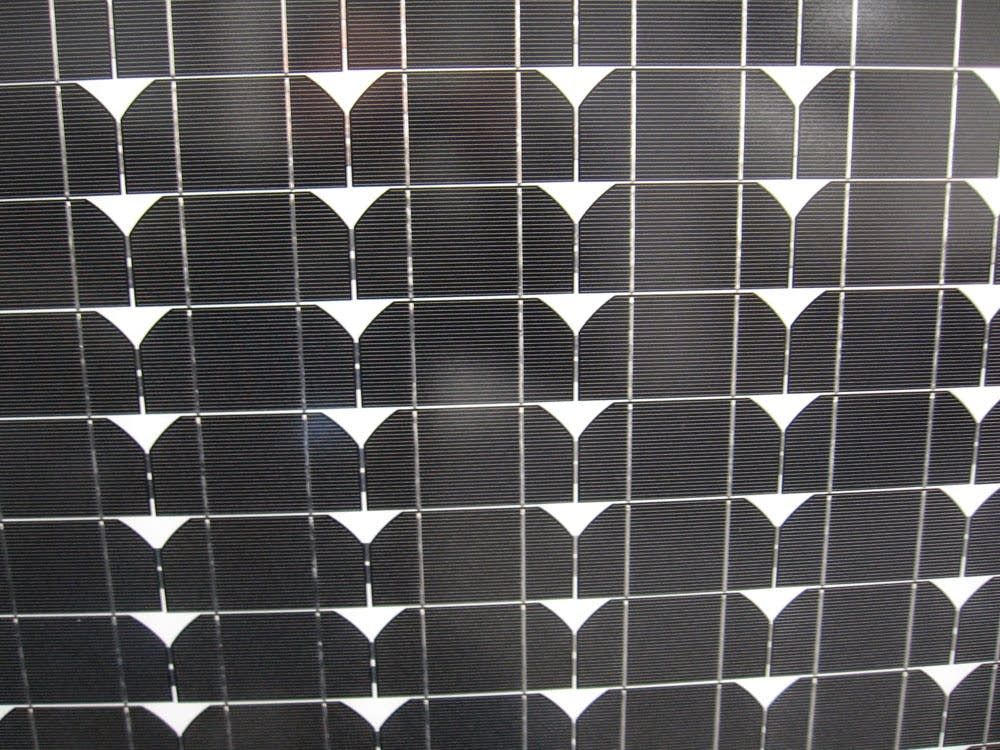 A tenKsolar panel