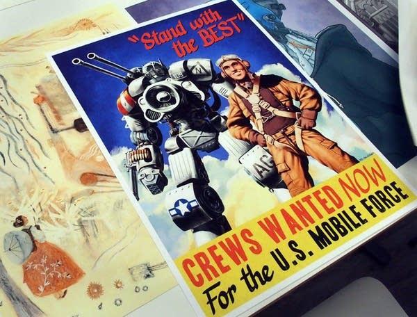 Ed Skudder's  ''Mobile Force Propaganda Poster''