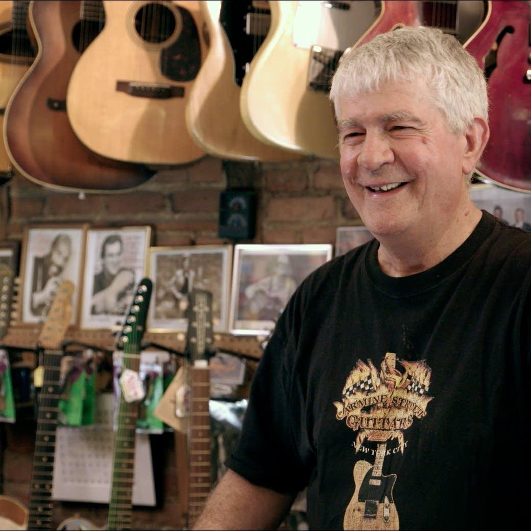 Rick Kelly, proprietor of Carmine Street Guitars