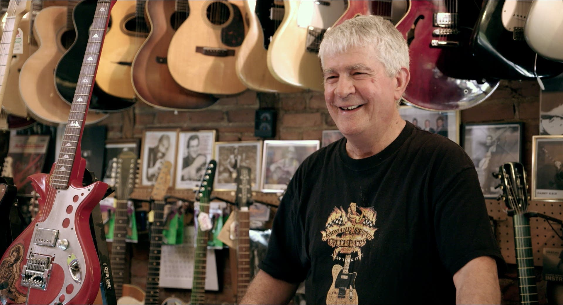 Rick Kelly, proprietor of Carmine Street Guitars