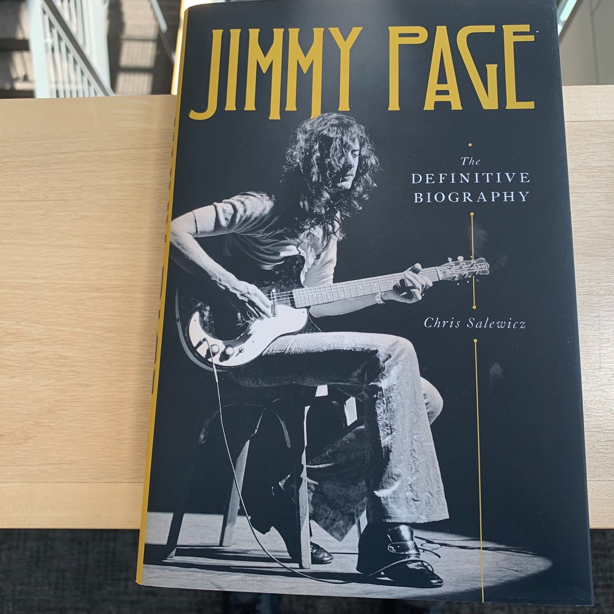 Chris Salewicz's 'Jimmy Page: The Definitive Biography.'