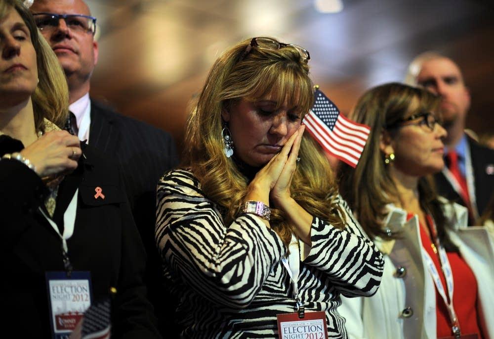 Romney supporter
