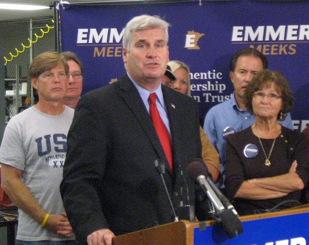 Emmer announces budget plan