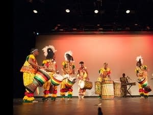 Duniya Drum and Dance presents 'Wali' at the Rarig Center.