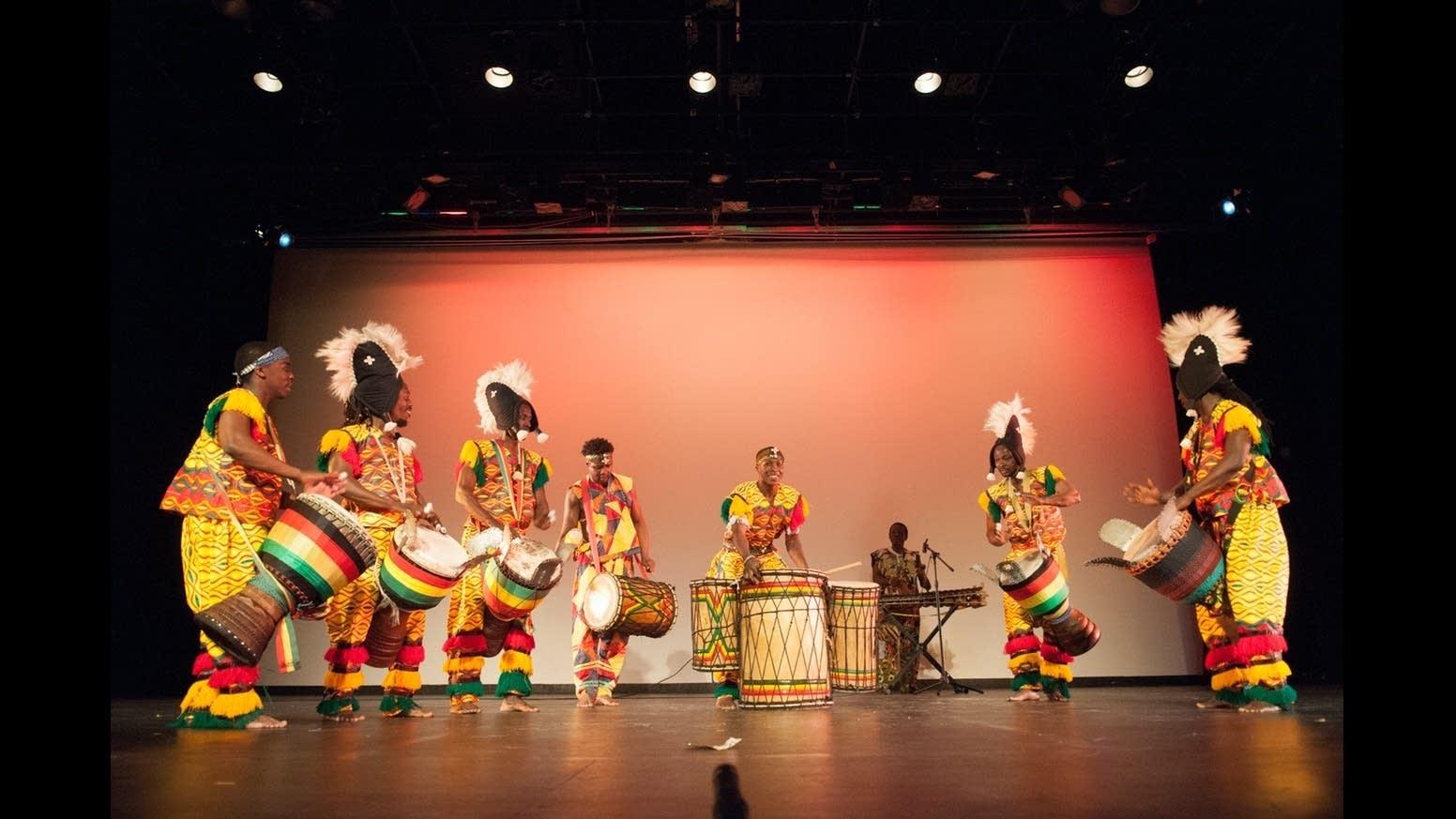 Duniya Drum and Dance presents 'Wali' at the Rarig Center.