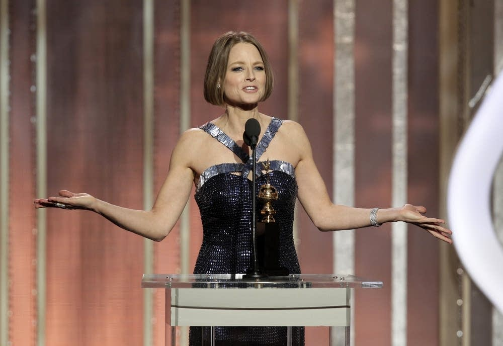 Jodie Foster win the Cecil B. Demille Award