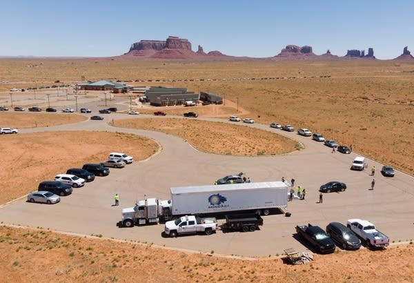 On the Navajo Nation, college students navigate a curfew and digital dead zones