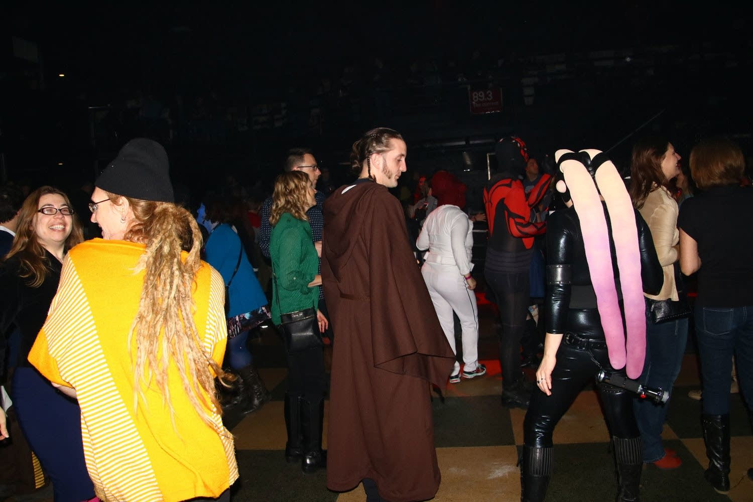 Star Wars fans at First Avenue