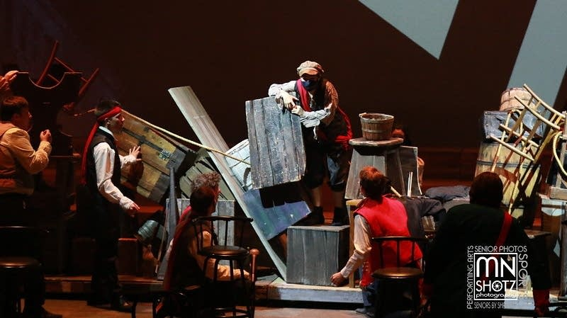 Eagan High School Theatre's production of 'Les Mis'