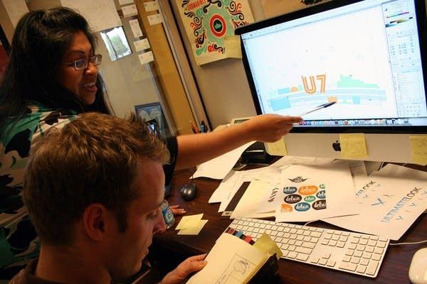 U7 web design