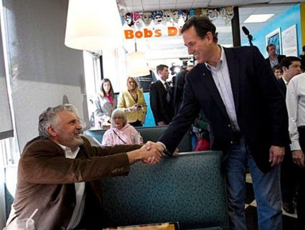 Santorum in Pennsylvania