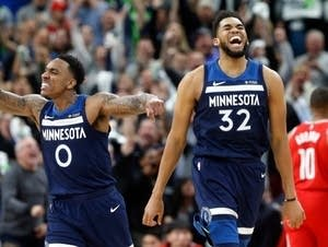 Jeff Teague, Karl-Anthony Towns
