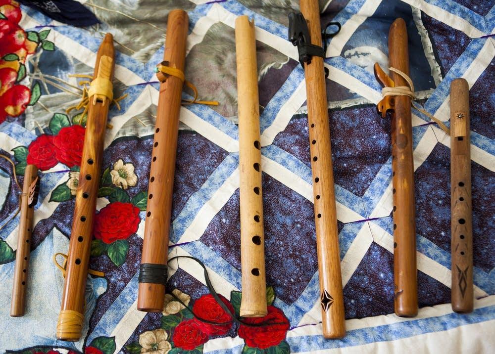 Ojibwe flutes