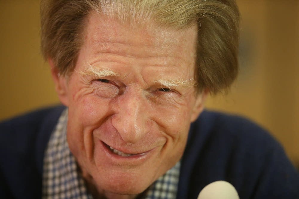 A Press Conference For Sir John Gurdon Winning The