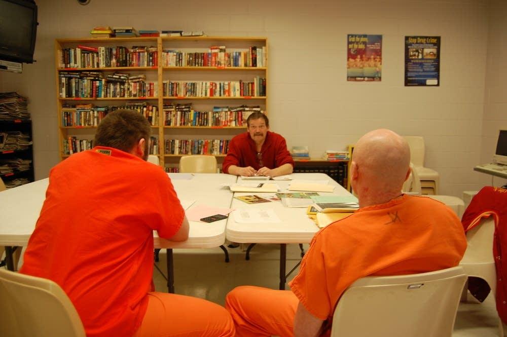 Hubbard County jail classroom