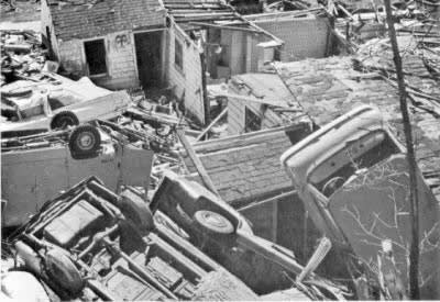 1965 Fridley damage