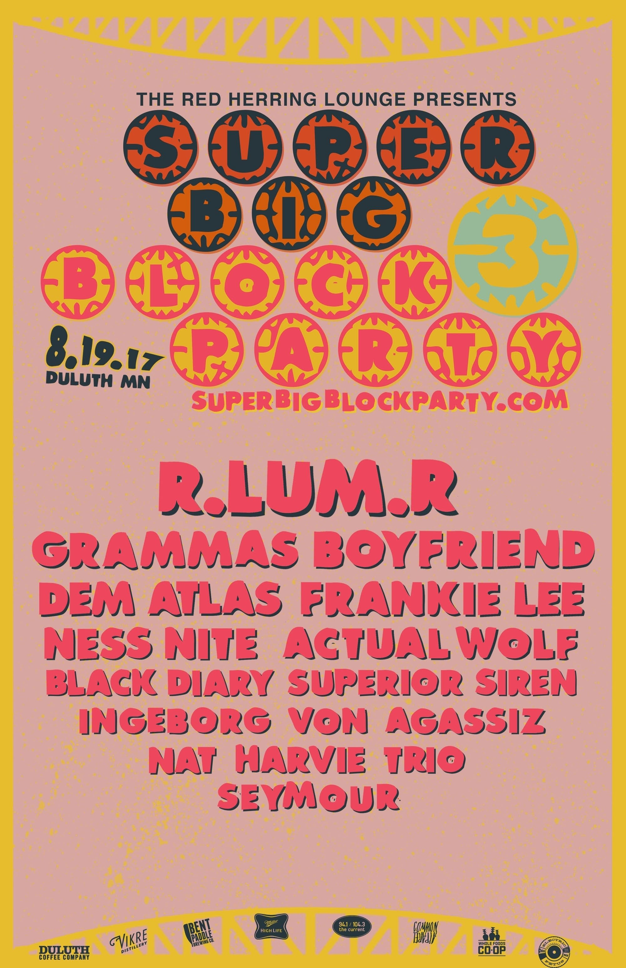 super big block party 3 dem atlas