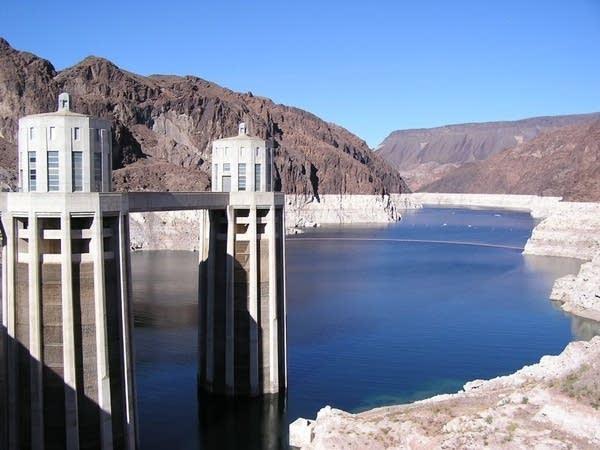 Shrinking Lake Mead